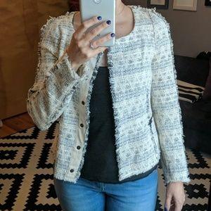 Zara Tweed jacket blazer XS